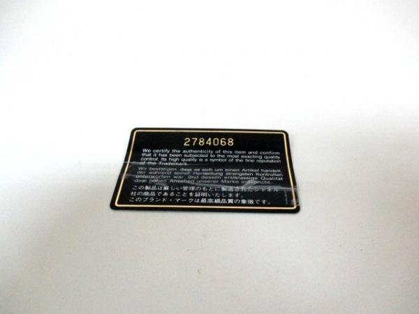 シャネル ショルダーバッグ スーパーモデル 黒 キャビアスキン 9