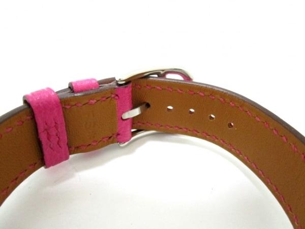 エルメス 腕時計 美品 Hウォッチ HH1.210 レディース 白 4