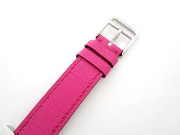 エルメス 腕時計 美品 Hウォッチ HH1.210 レディース 白 5