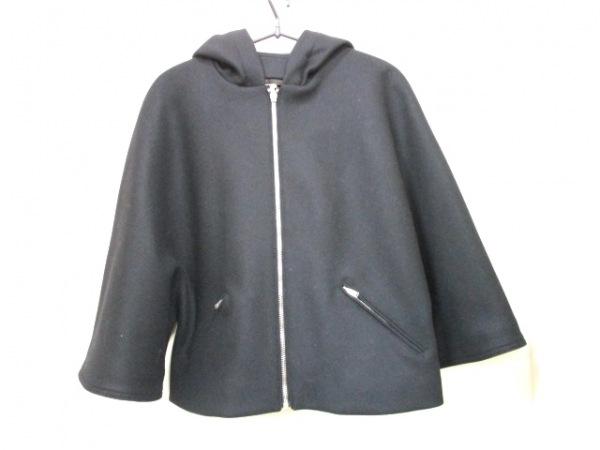 サンローランパリ コート F38 レディース 美品 黒 0