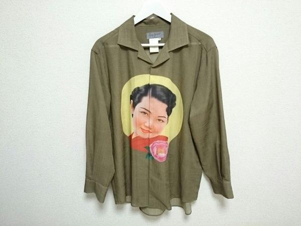 ヨウジヤマモト 長袖シャツ サイズ3【L】 メンズ 美品 0