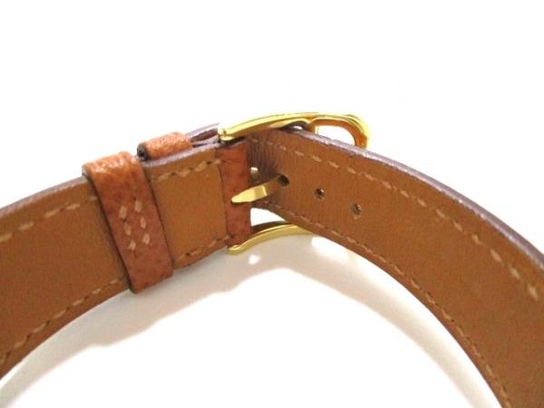エルメス 腕時計 美品 Hウォッチ HH1.201 レディース □J 白 4