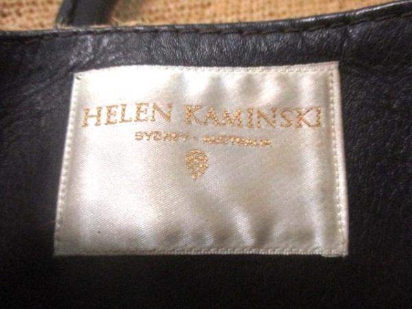 ヘレンカミンスキー トートバッグ ベージュ×ダークブラウン 6