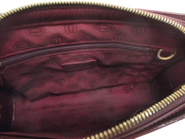 Cartier(カルティエ) セカンドバッグ マストライン ボルドー レザー 5