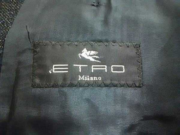 エトロ シングルスーツ メンズ ダークネイビー ETRO 3