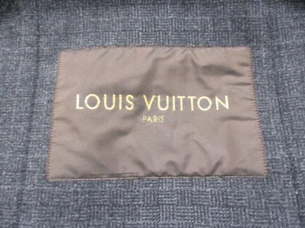 ルイヴィトン ダッフルコート 50 メンズ 美品 黒 LOUIS VUITTON 3