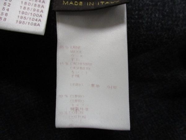 ルイヴィトン ダッフルコート 50 メンズ 美品 黒 LOUIS VUITTON 4
