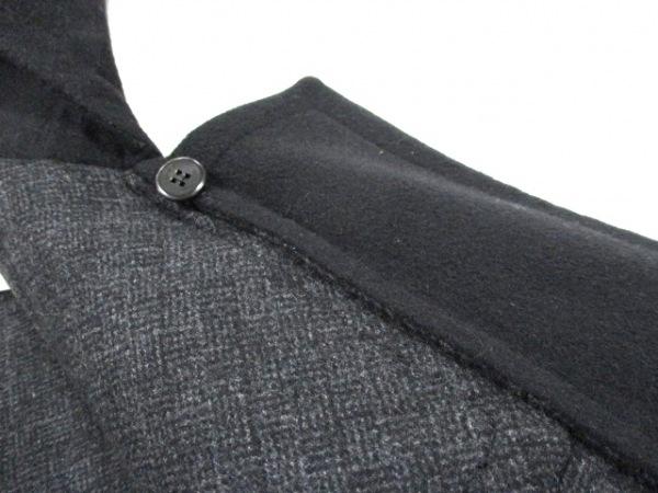 ルイヴィトン ダッフルコート 50 メンズ 美品 黒 LOUIS VUITTON 5