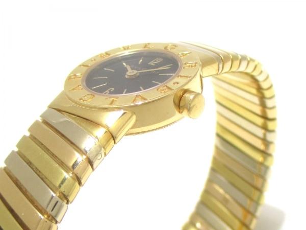 BVLGARI(ブルガリ) 腕時計 トゥボガス BB192T レディース 黒 7