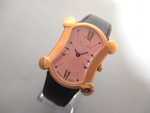 CELINE(セリーヌ) 腕時計 ブラゾン - ボーイズ ベージュ 0