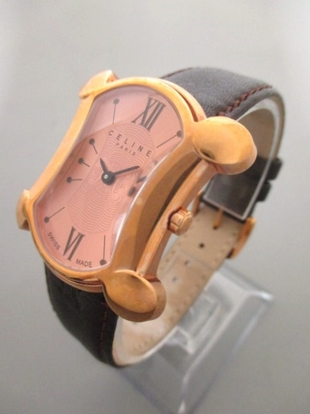 CELINE(セリーヌ) 腕時計 ブラゾン - ボーイズ ベージュ 2