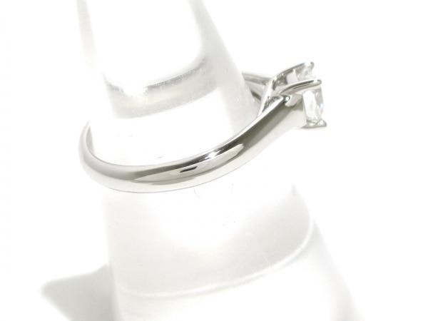 磨き済み ティファニー リング ルシダ Pt950×ダイヤモンド 2