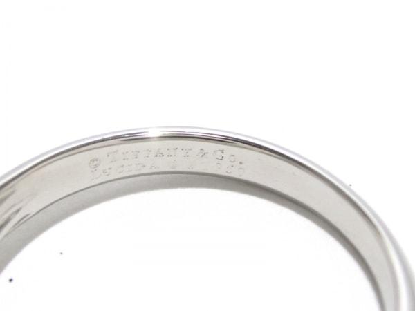 磨き済み ティファニー リング ルシダ Pt950×ダイヤモンド 5