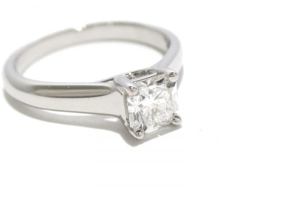 磨き済み ティファニー リング ルシダ Pt950×ダイヤモンド 6