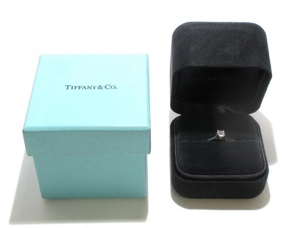 磨き済み ティファニー リング ルシダ Pt950×ダイヤモンド 7