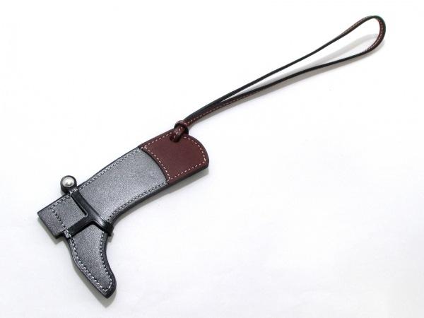 エルメス キーホルダー(チャーム) 美品 パドックチャーム ブーツ 0