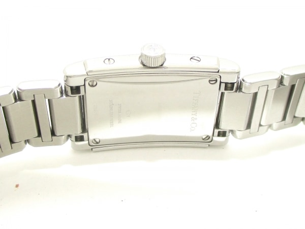 ティファニー 腕時計 グランド - レディース SS/ダイヤベゼル 白 6