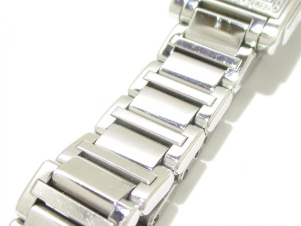 ティファニー 腕時計 グランド - レディース SS/ダイヤベゼル 白 8