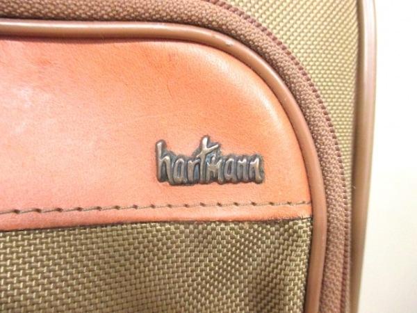 ハートマン トランクケース ベージュ×ブラウン hartmann 6