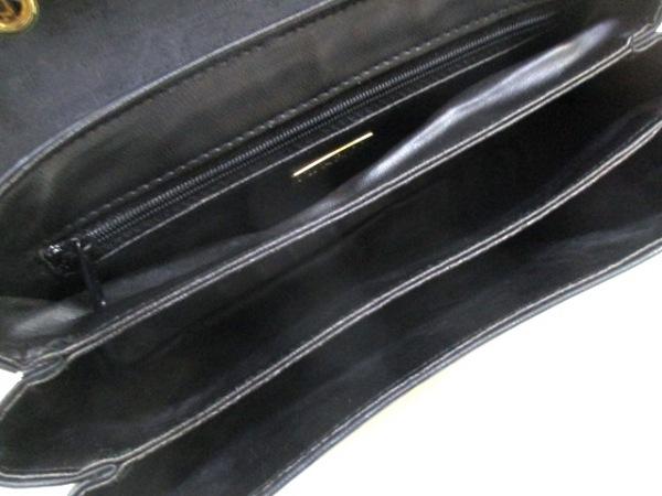 ニナリッチ ハンドバッグ ネイビー PVC(塩化ビニール)×レザー 5