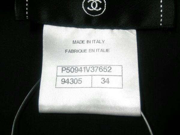 シャネル ブルゾン サイズ34 S レディース美品  黒 リボン/春・秋物 4