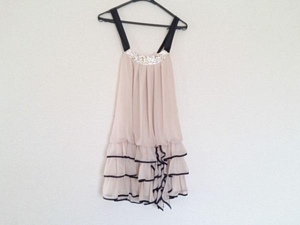 aimer(エメ) ドレス サイズ09 M レディース ベージュ×黒 0