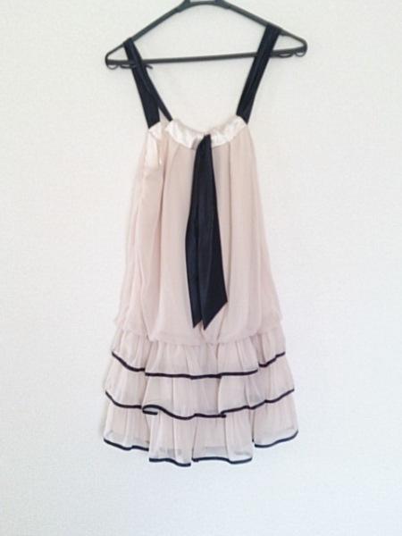 aimer(エメ) ドレス サイズ09 M レディース ベージュ×黒 2