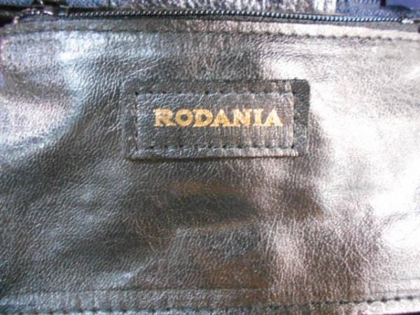 ロダニア バニティバッグ ダークネイビー レザー RODANIA 6
