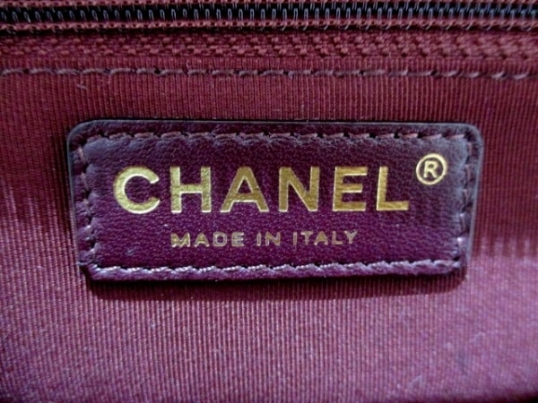 シャネル 財布 美品 ボーイシャネル シャンパンゴールド CHANEL 4