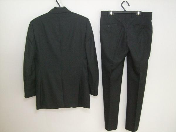 プラダ シングルスーツ メンズ 黒 PRADA 2