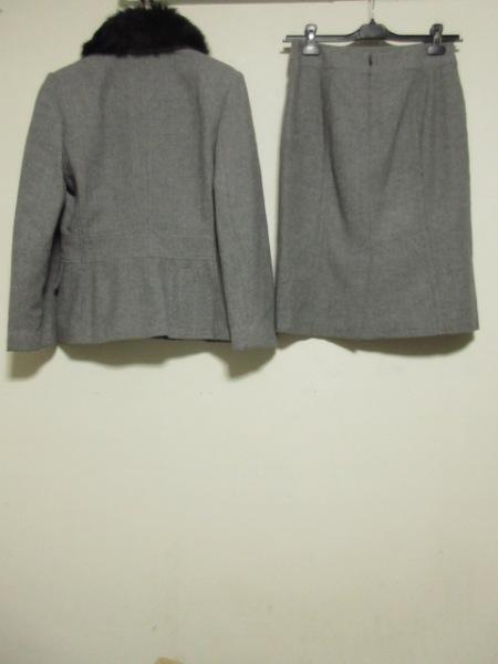 バナナリパブリック スカートスーツ レディース グレー×黒 2