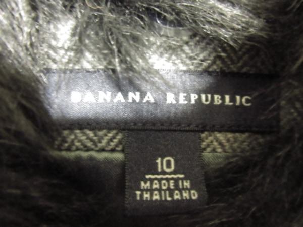 バナナリパブリック スカートスーツ レディース グレー×黒 3