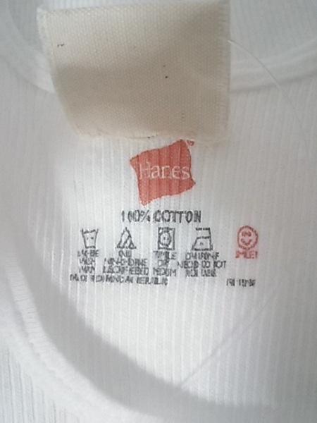 レッドリーチュエ タンクトップ サイズS メンズ新品同様  白×クリア 4