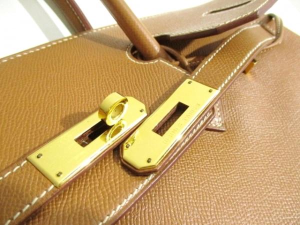 エルメス ハンドバッグ 美品 バーキン35 ゴールド ゴールド金具 3