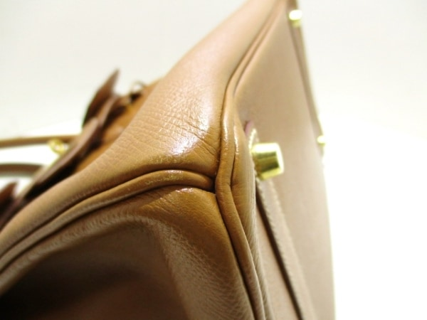 エルメス ハンドバッグ 美品 バーキン35 ゴールド ゴールド金具 6