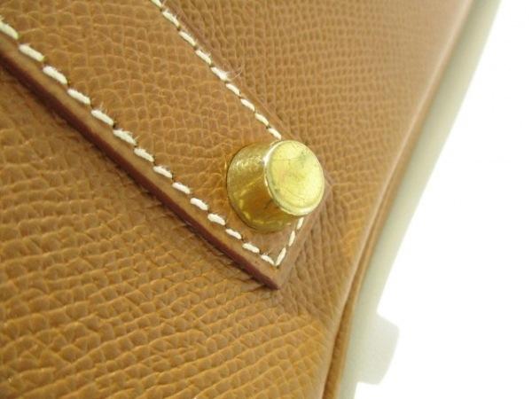 エルメス ハンドバッグ 美品 バーキン35 ゴールド ゴールド金具 7