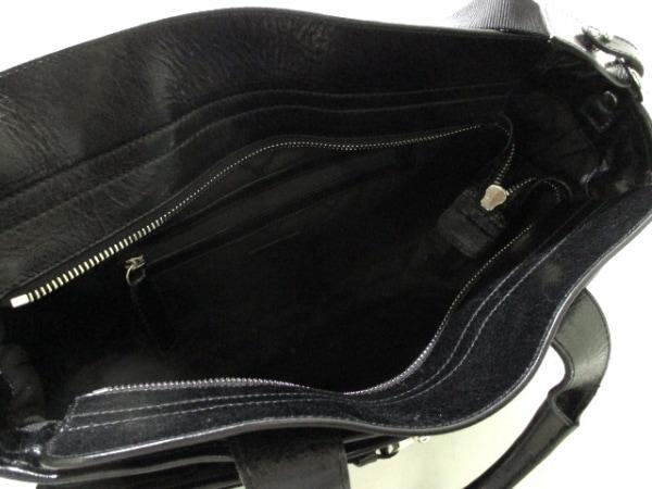 モンクレール ビジネスバッグ 黒 キルティング レザー MONCLER 5