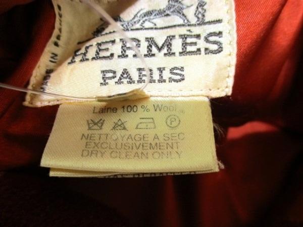 エルメス ダッフルコート サイズ52 メンズ 美品 レッド 冬物 4