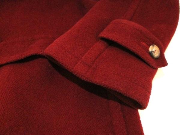 エルメス ダッフルコート サイズ52 メンズ 美品 レッド 冬物 6