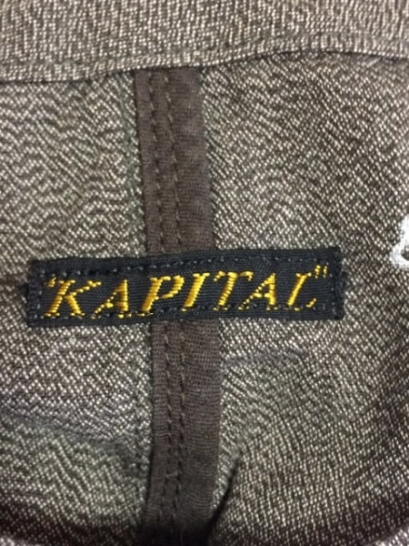 KAPITAL(キャピタル) ベスト レディース ダークブラウン 3