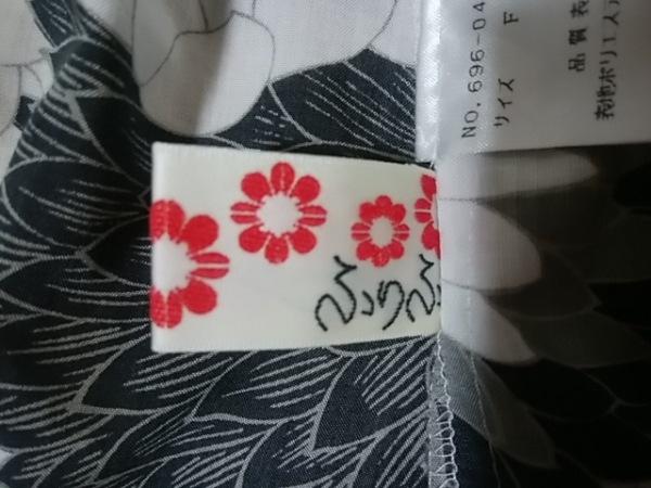 ふりふ(フリフ) キャミソール サイズF レディース 白×黒×マルチ 3