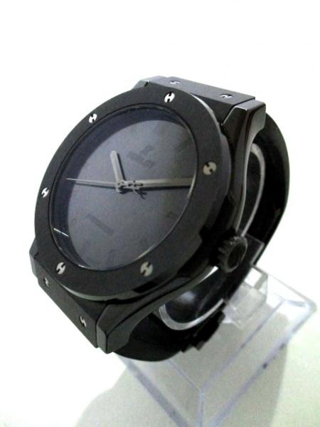 HUBLOT(ウブロ) 腕時計 美品 511.CM.0500.VR.BER16 メンズ 黒 2