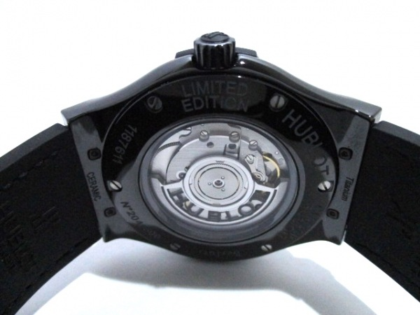 HUBLOT(ウブロ) 腕時計 美品 511.CM.0500.VR.BER16 メンズ 黒 3