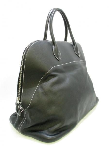 エルメス ハンドバッグ美品  ボリードリラックス45 黒 シルバー金具 2
