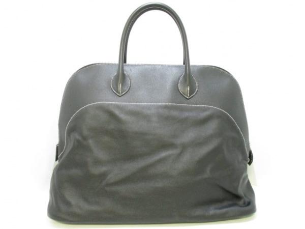 エルメス ハンドバッグ美品  ボリードリラックス45 黒 シルバー金具 3