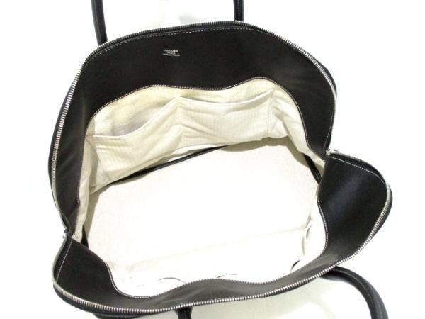 エルメス ハンドバッグ美品  ボリードリラックス45 黒 シルバー金具 5
