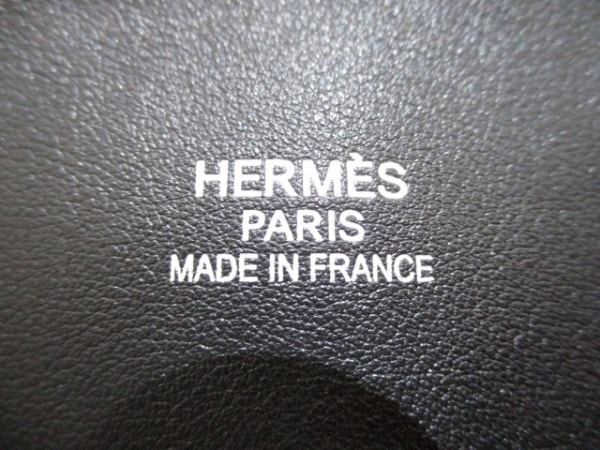 エルメス ハンドバッグ美品  ボリードリラックス45 黒 シルバー金具 6