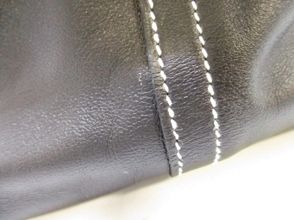 エルメス ハンドバッグ美品  ボリードリラックス45 黒 シルバー金具 8