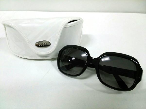 エミリオプッチ サングラス 56 19 135新品同様  EP603S 黒×白 6