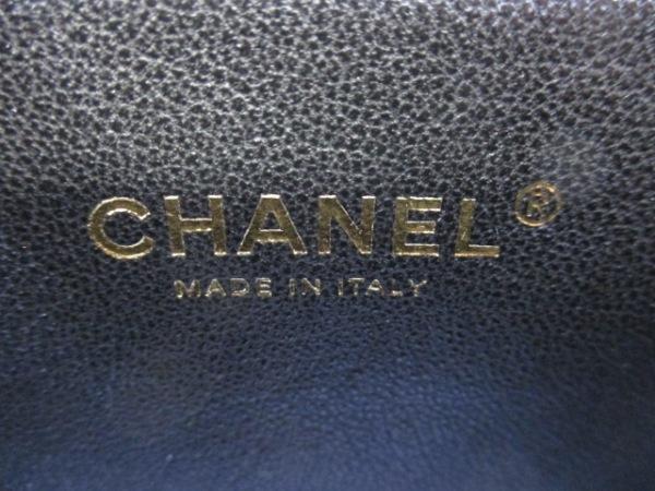 シャネル ショルダーバッグ 美品 マトラッセ A93340 白×黒 6
